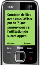 SMS poll